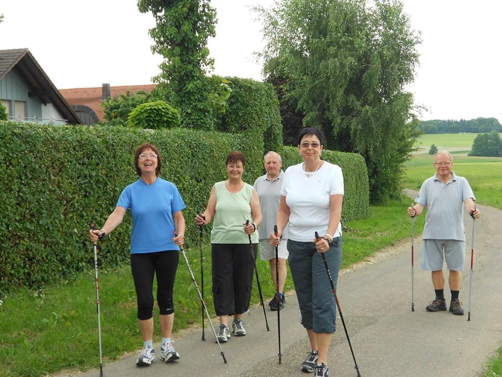 Nordic Walking Gruppe TSV Dewangen