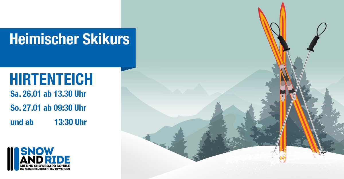 Heimischer Skikurs am 26.01. und 27.01.2019